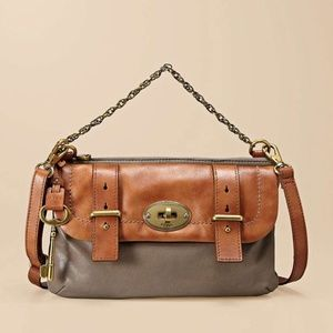 Fossil Vintage Mason Top zip crossbody bag
